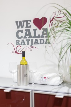 Wand-Tattoo (80 cm) Cala Ratjada