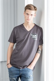 Men´s Fashion V-Neck Sof-Tee Cala Ratjada