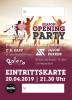 Eintrittskarte - SEASON OPENING PARTY