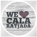 We love Cala Ratjada Sticker