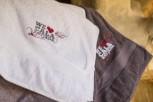 Strand- und Sauna-Handtuch White Cala Ratjada